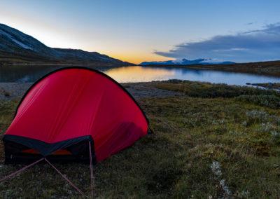 Naturguidning tält