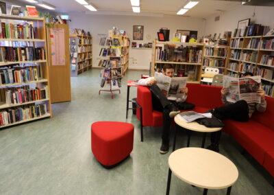 Bibliotek - Dagstidningar
