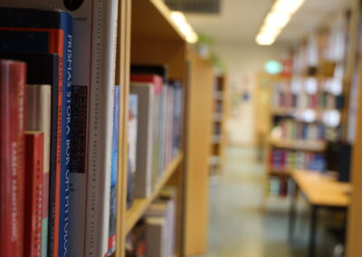 Bibliotek - böcker
