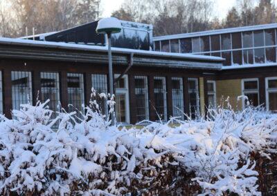 Vinter på skolan